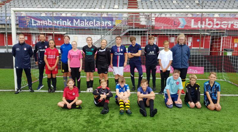JOUWHYPOTHEEK.NL schenkt jeugd ValtherBoys/HOC een voetbalclinic FC Emmen